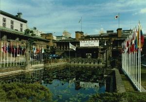 ②東京オリンピックのIOC本部ホテルになった帝国ホテル-カラー(1964年10月)