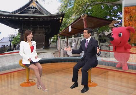 台湾のテレビ局で千葉の魅力をPR