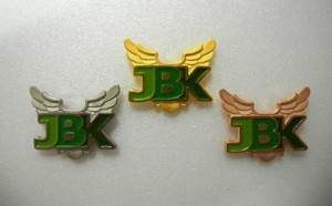 JBKバッチ(金銀銅)