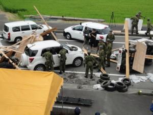 車両多重事故