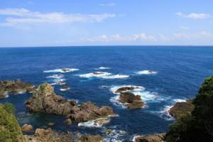 小_串本町の海(エルトゥールル号遭難現場)