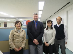 Picture (with Ms. Sugita, Mr. Ivison, Megumi, Mr. Yano)
