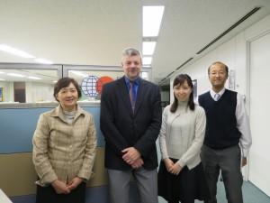 Picture (with Ms. Sugita, Mr. Ivison, Megumi, Mr. Yano)