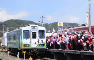 ④(三陸鉄道北リアス線全線開通 平成26年4月)