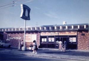 ローソン1号店(1975年当時)