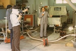 ③1980年コロンビアTV取材班_スバル大田原工場の現場取材-2