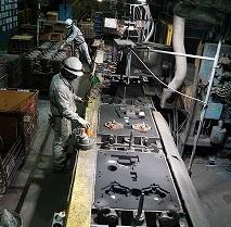 協和 鋳造ライン3