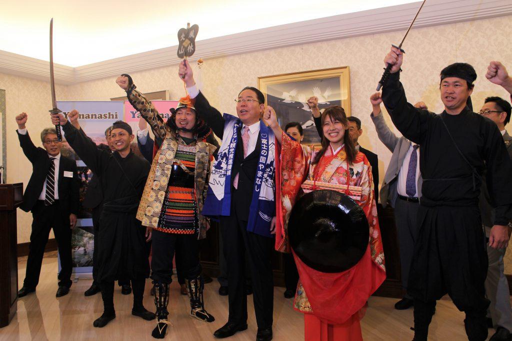Governor Goto Promoting Yamanashi in Malaysia
