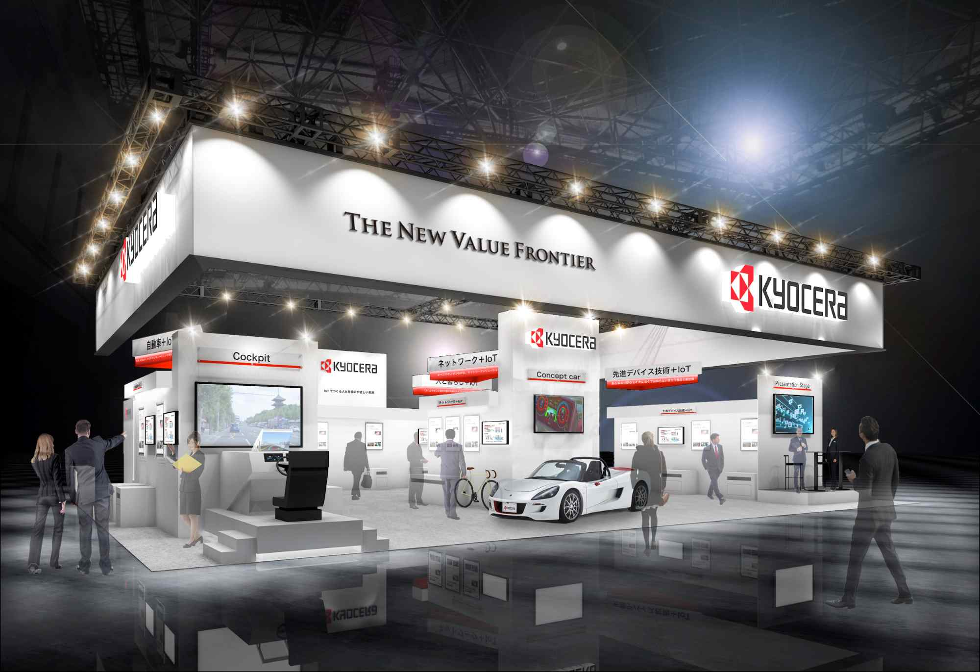 KYOCERA Group to Exhibit Innovative Technologies and